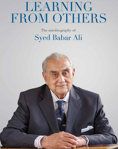 Learning from Others - Syed Babar Ali