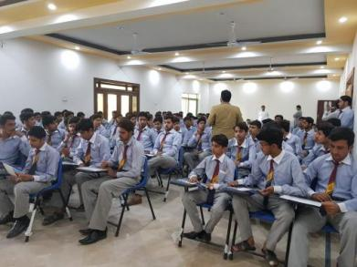 The National Outreach Programme Team reached out to various students in Mianwali